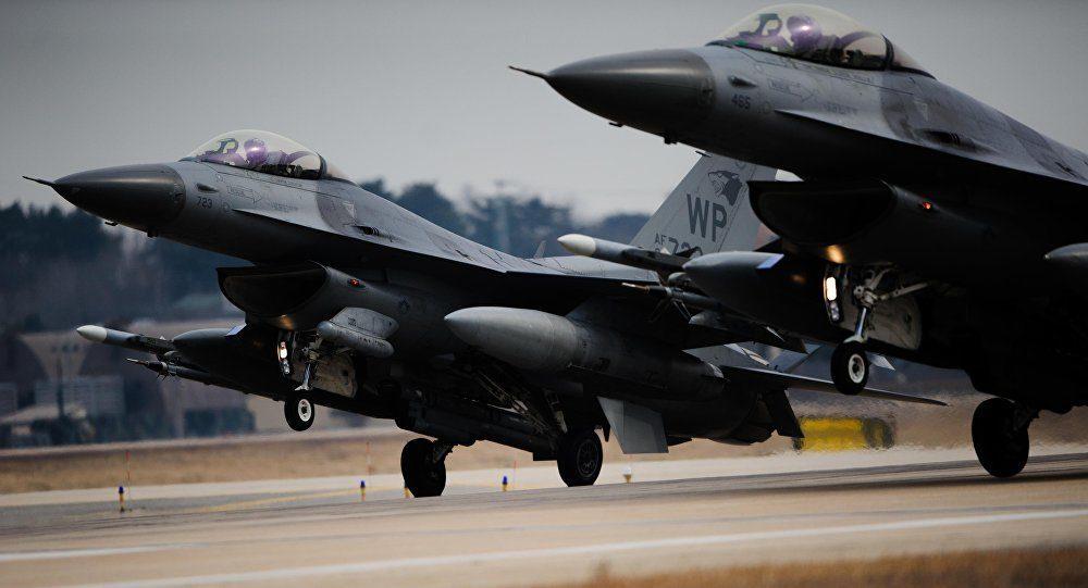 F 16 Absturz