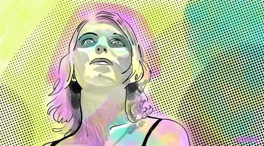 chelsea manning illustration