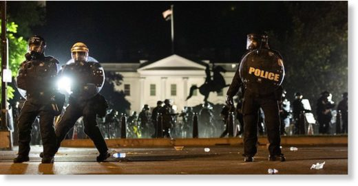 white house police