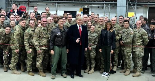 trump us troops