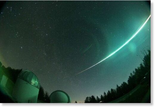 Fireball sighted over Germany
