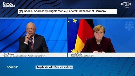 """Merkel unterhält sich mit Klaus Schwab und fragt: """"Brauchen wir wirklich diesen Great Reset?"""""""