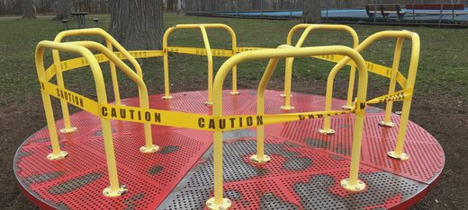 closed playground lockdown