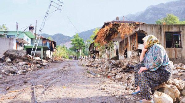 Unwetter In Turkei Ort Von Der Landkarte Gefegt