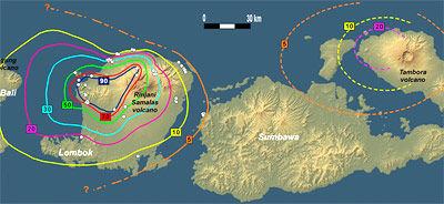 Samalas Vulkan